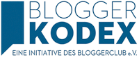 Bloggerkodex Logo des Bloggerclub