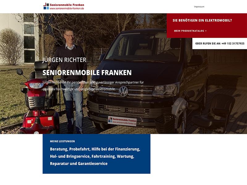 Screenshot Seniorenmobile Franken